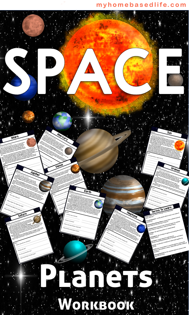 Galaxy Unit Learning About Planets WorkBook