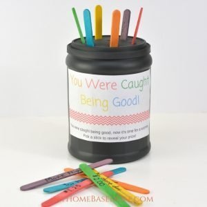 "Reward System for Kids Craft – ""I Got Caught Being Good"""