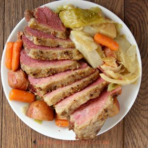 Slow Cooker Corned Beef and Cabbage Recipe
