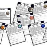 Learning About Planets Printable Workbook