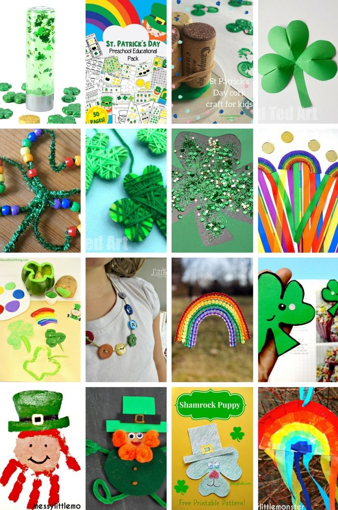 Attractive St Patricks Day Crafts Part - 13: St. Patricku0027s Day Crafts For Kids (1)