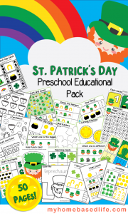 St. Patrick's Day 50 Page Printable Activity Book for Kids!