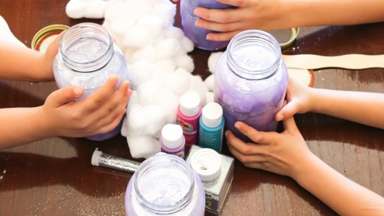 Galaxy Jar Kids Activity