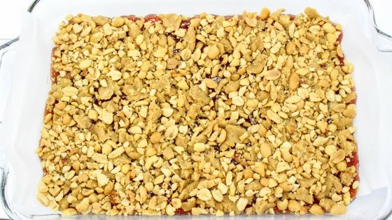 Peanut Butter & Jelly Snack Bars Recipe