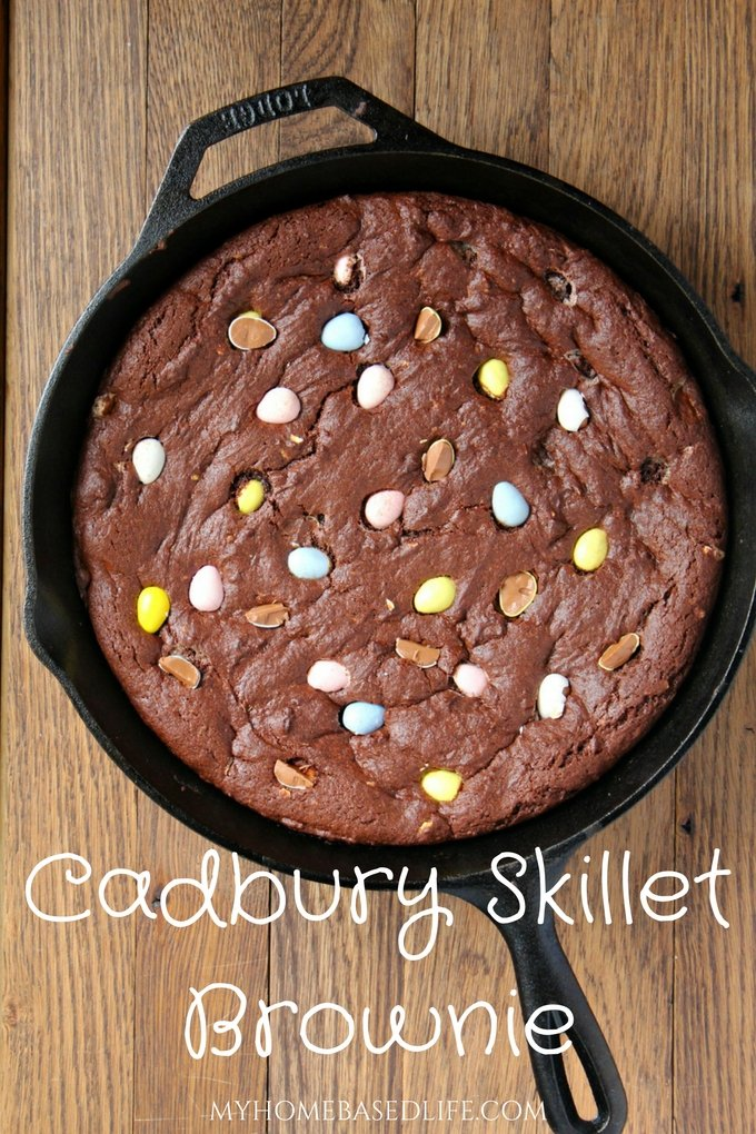 Cadbury Skillet Brownie Recipe