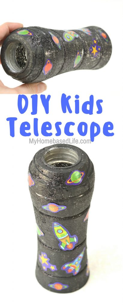 DIY Space Themed Telescope for Kids