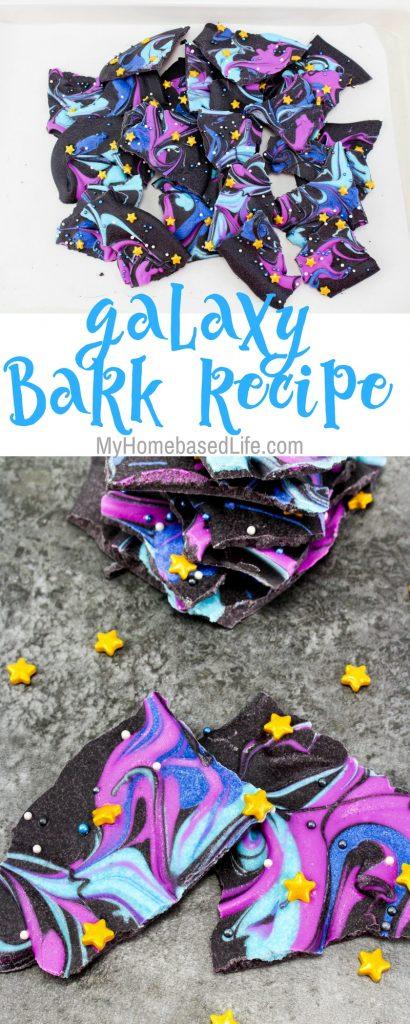 Galaxy Bark Recipe