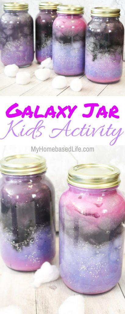 Galaxy Jar Kids Activity