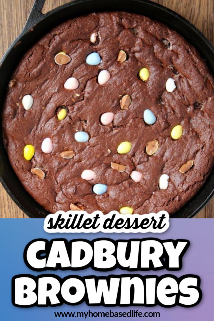 cadbury egg brownie recipe