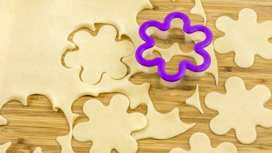 Blueberry Flower Tarts Recipe