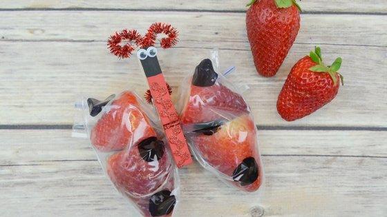 Ladybug Snacks for kids