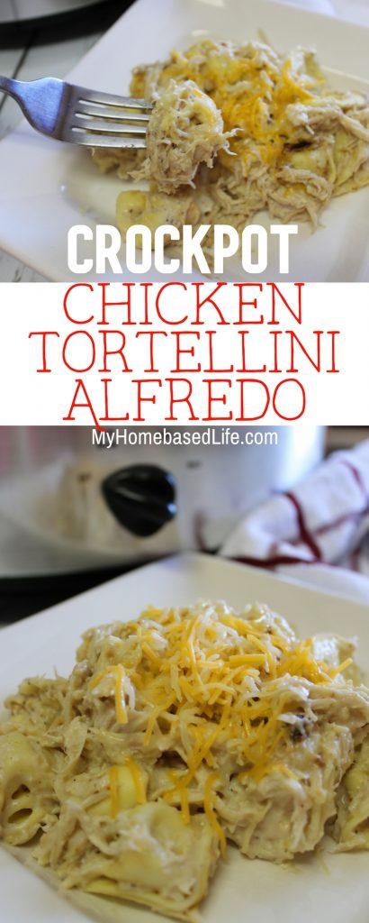 Crockpot Chicken Tortellini Alfredo Recipe