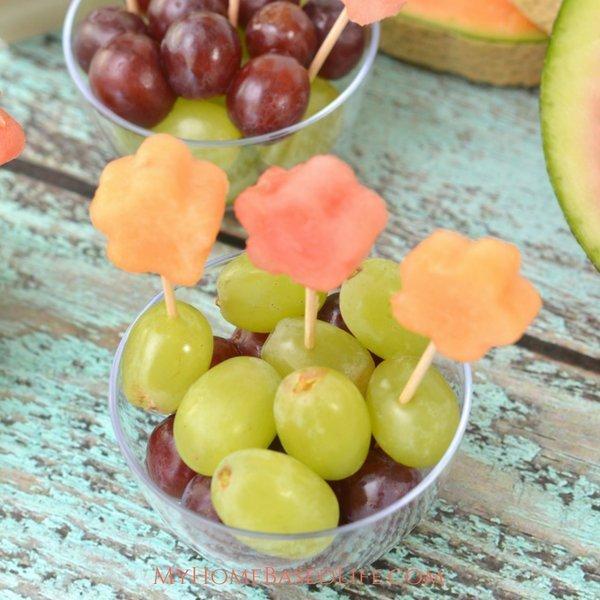 Flower Garden Fruit Cup Snacks
