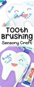 Tooth Brushing Sensory Play Craft