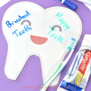 Tooth Brushing Sensory Play Craft