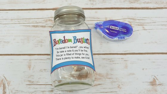 No one wants kids to play on electronics all the time. The BEST Boredom Buster Jar for Kids can be created for your home and I'm going to show you how. #boredombuster #kids #parenting #myhomebasedlife | Boredom Buster Ideas | Kids Activity Jar | Summer Activity Ideas |