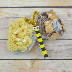 Buzzing Bee Snack Bags + Video