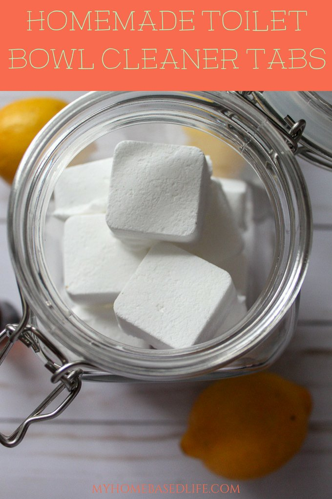 These Homemade Toilet Cleaner Bowl Tabs are going to rock your cleaning world. They are made right in your house, so your kiddos can help too. #essentialoils #cleaninghack #bathroomhack #toiletcleaner #frugaltip #myhomebasedlife   Frugal Living   Bathroom Hack   Cleaning Hack   Toilet Cleaners   DIY Cleaner  