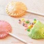 Sparkly Tootsie Roll Surprise Pops Recipe
