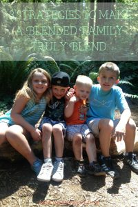 Blending a family is a lot like building a friendship. You want to take your time and allow your family to grow together and learn to love each other. Here are my 3 Strategies to make a Blended Family Truly Blend. #blendedfamilies #parenting #family #bonding | Blended Family | Parenting Tips | Parenting Advice | Family