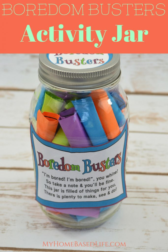 The Best Boredom Buster Jar For Kids Video My Home Based Life