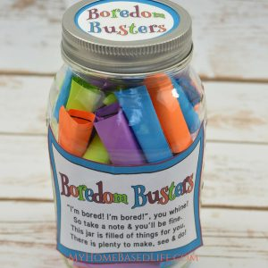 The BEST Boredom Buster Jar for Kids + Video