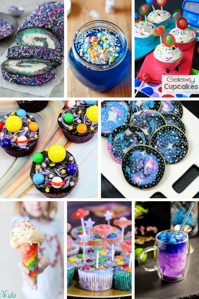 If you're looking for galaxy themed recipes, you've come to the right spot. Here are what I consider 25 of the best Galaxy Themed Recipes around! #galaxy #recipes #desserts #myhomebasedlife | Galaxy Themed Foods | Dessert Recipes | Drink Recipes | Themed Recipes |