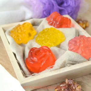 Honey Lavender Shower Jellies
