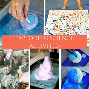If you have never done any exploding science experiments, you're in for a treat. Give these 20+ Science Experiments a try today. #science #experiments #explodingscience #kidsactivity #myhomebasedlife | Science Experiments | Exploding Science Experiments |STEM Activity | Educational Kids Activities |