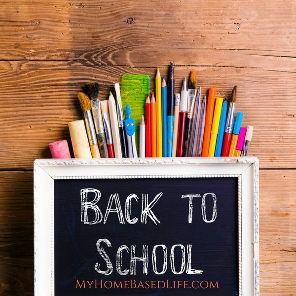Before you send the kids back to school, you have to do some shopping. Use these tips to help you shop for back to school supplies with $100 per child. #backtoschool #frugalliving #parenting #myhomebasedlife | Back To School | School Supplies Shopping | Parenting | Frugal Living | Saving Money