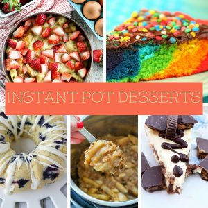 Over 70 incredible Instant Pot Dessert Recipes for you to make right now. Simple and delicious desserts ready in minutes. #instantpot #desserts #myhomebasedlife | Instant Pot Recipes | Instant Pot Dessert Recipes | Instant Pot | Dessert Recipes