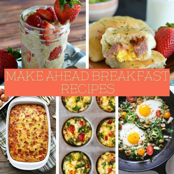 67 Make Ahead Breakfast Recipes
