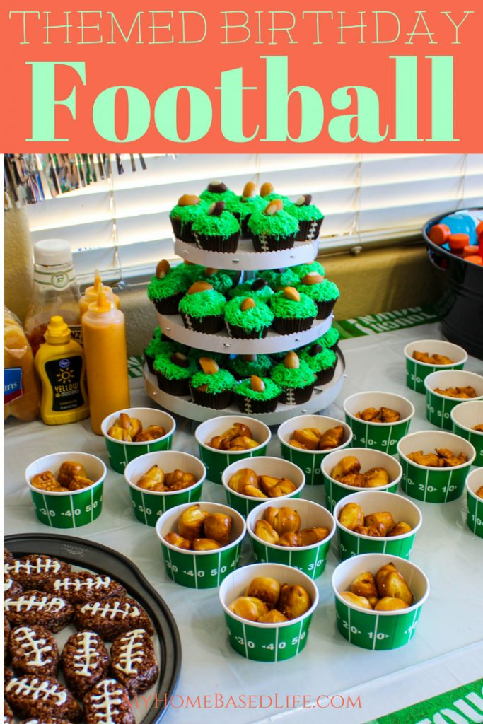Football Themed Birthday Party Ideas My Home Based Life