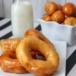 "Change up your breakfast routine and make these simple glazed donuts instead. The kids love them and you will get serious ""Cool Mom' Points. #donuts #donutrecipes #doughnuts #breakfast #myhomebasedlife 