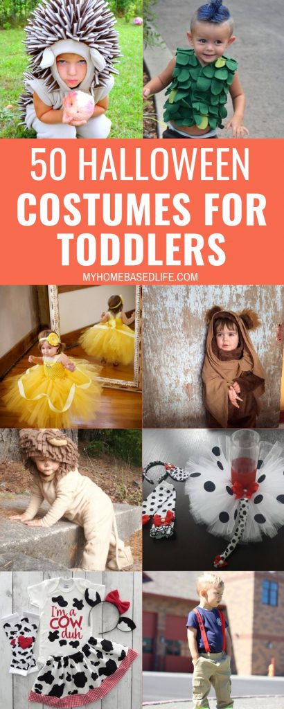 There are some adorable Halloween Costumes for Toddlers out there. Here are 50 Costume ideas to help you out this year with your toddler. #halloween #costumes #toddler #myhomebasedlife | Toddler Costumes | Halloween Costumes | Halloween |