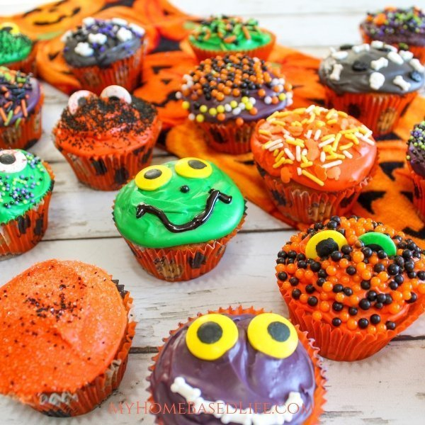 Cute Halloween Cupcakes For Kids My Home Based Life