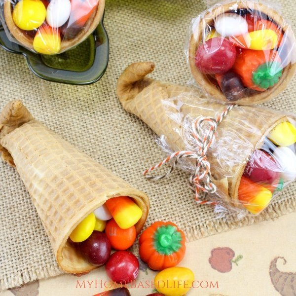 These harvest Cornucopia Treats are so simple from start, to finish, kids can do these. Classroom Approved for Holiday parties! #thanksgiving #classroomapproved #kidssnacks #fallsnacks #cornucopia #myhomebasedlife | Classroom Snacks | Holiday Party Snacks for Kids | Simple Fall Snacks | Cornucopia Snack Ideas | Harvest Snack Ideas