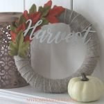 Harvest Farmhouse Fall Wreath Decor