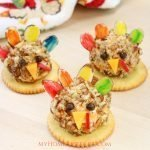 Turkey Cheese Ball Appetizer for Kids