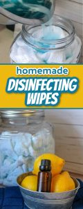 homemade Clorox disinfecting wipes