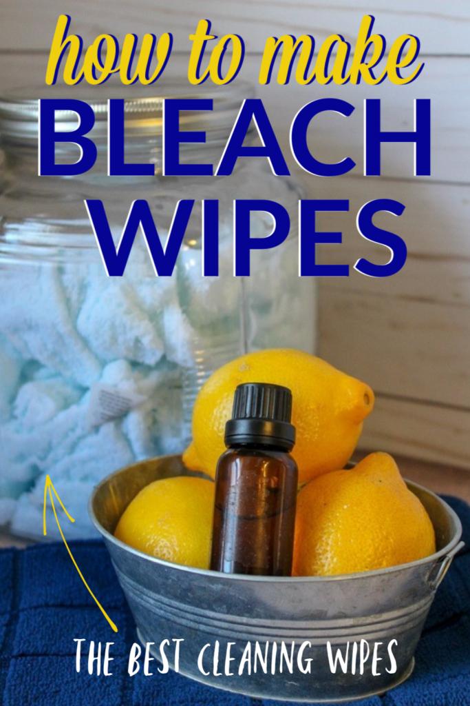 how to make Clorox bleach wipes at home