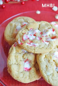 white chocolate candy cane cookie recipe