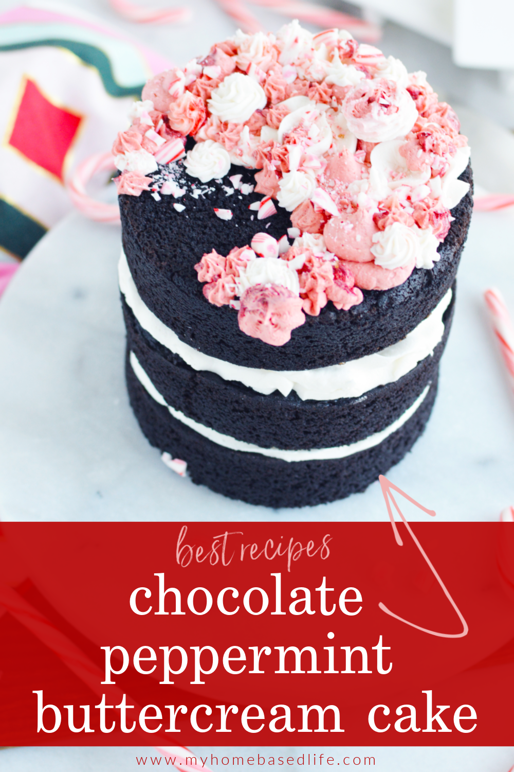 buttercream peppermint chocolate cake recipe