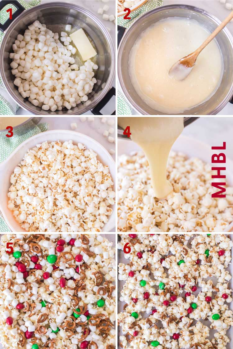 how to make christmas popcorn