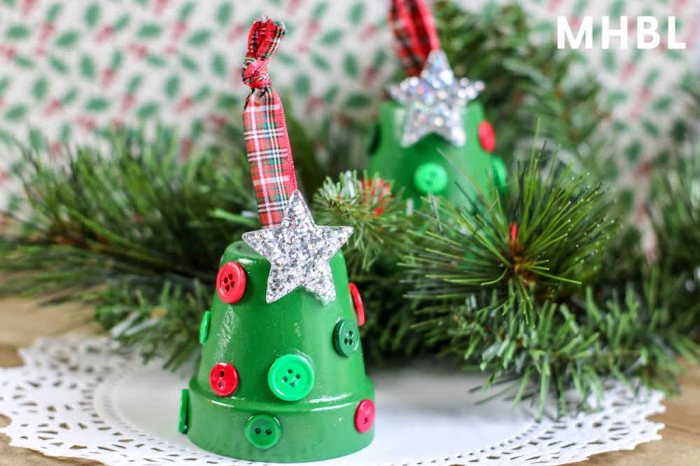 easy kids craft how to make tree ornaments