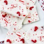 Christmas chocolate peppermint bark and easy holiday candy recipe
