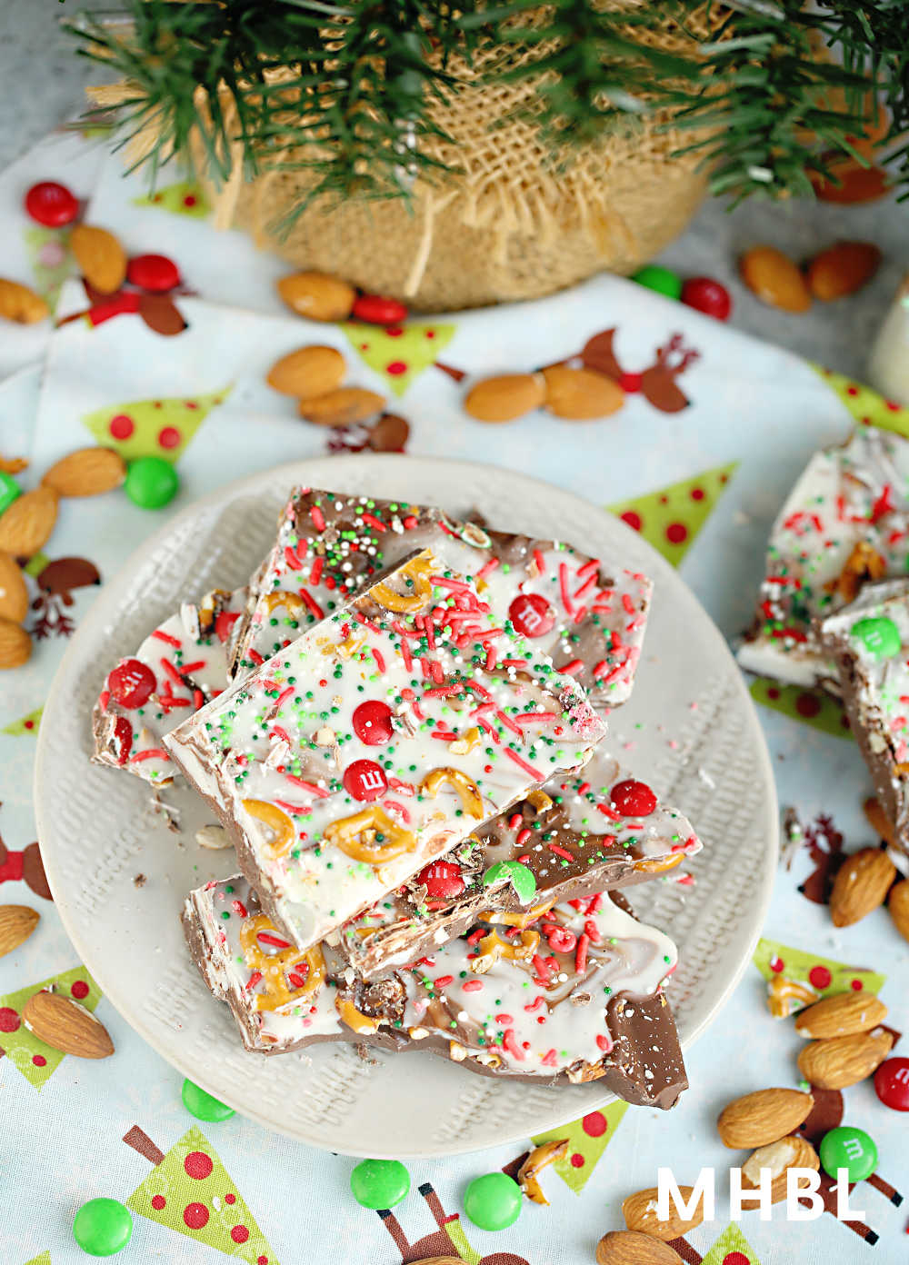 ultimate kitchen sink christmas bark recipe
