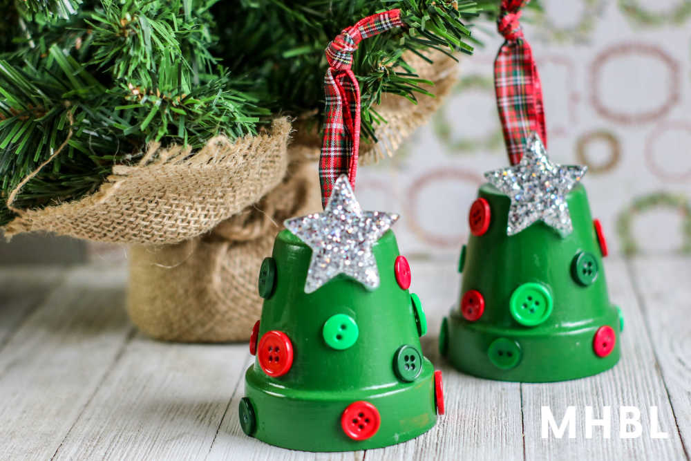 easy christmas tree ornament crafts