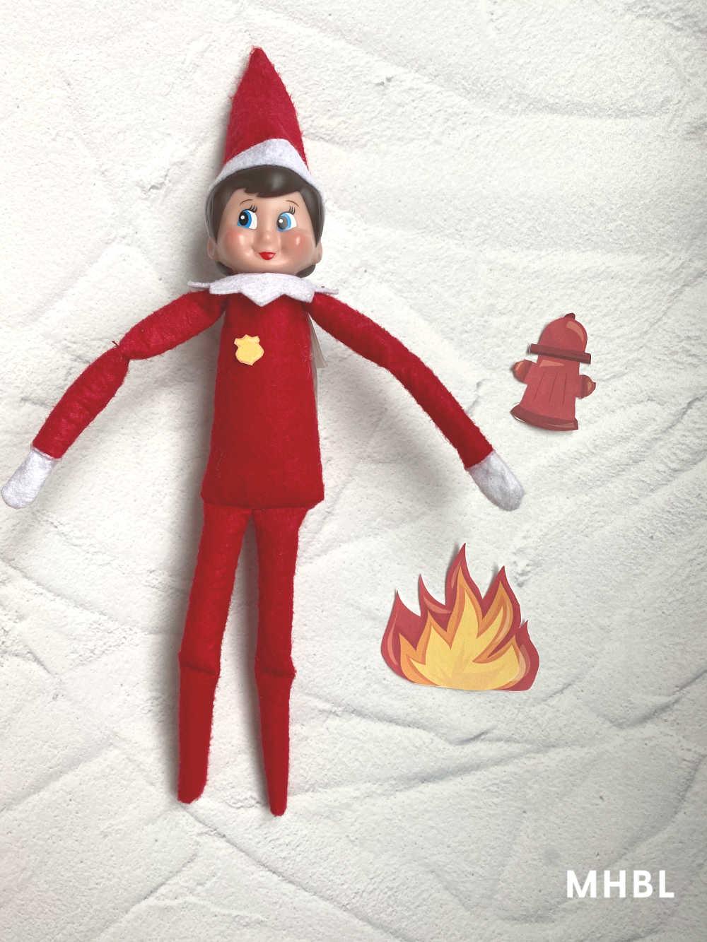 fireman elf on the shelf printables