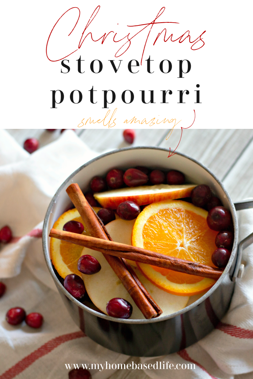 Christmas stovetop simmering all natural potpourri
